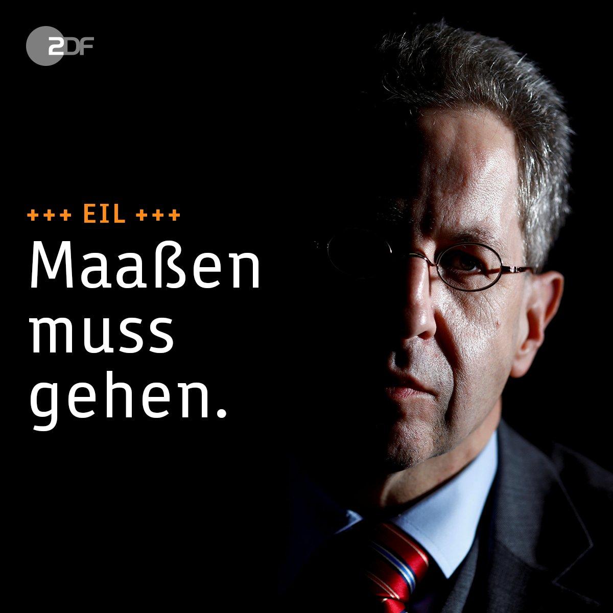 Verfassungsschutzpräsident #Maassen muss seinen Posten räumen. Das ist das Ergebnis eines Krisengesprächs der Parteichefs von #CDU, #CSU und #SPD.