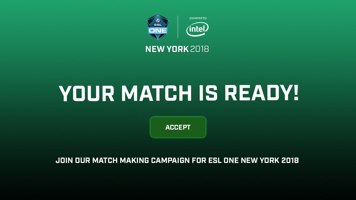 No one wants to Solo Q - Lets team up 🙌 Join our match-making for #ESLOne New York and meet your online buddies or make new friends! esl-one.com/csgo/newyork-2…
