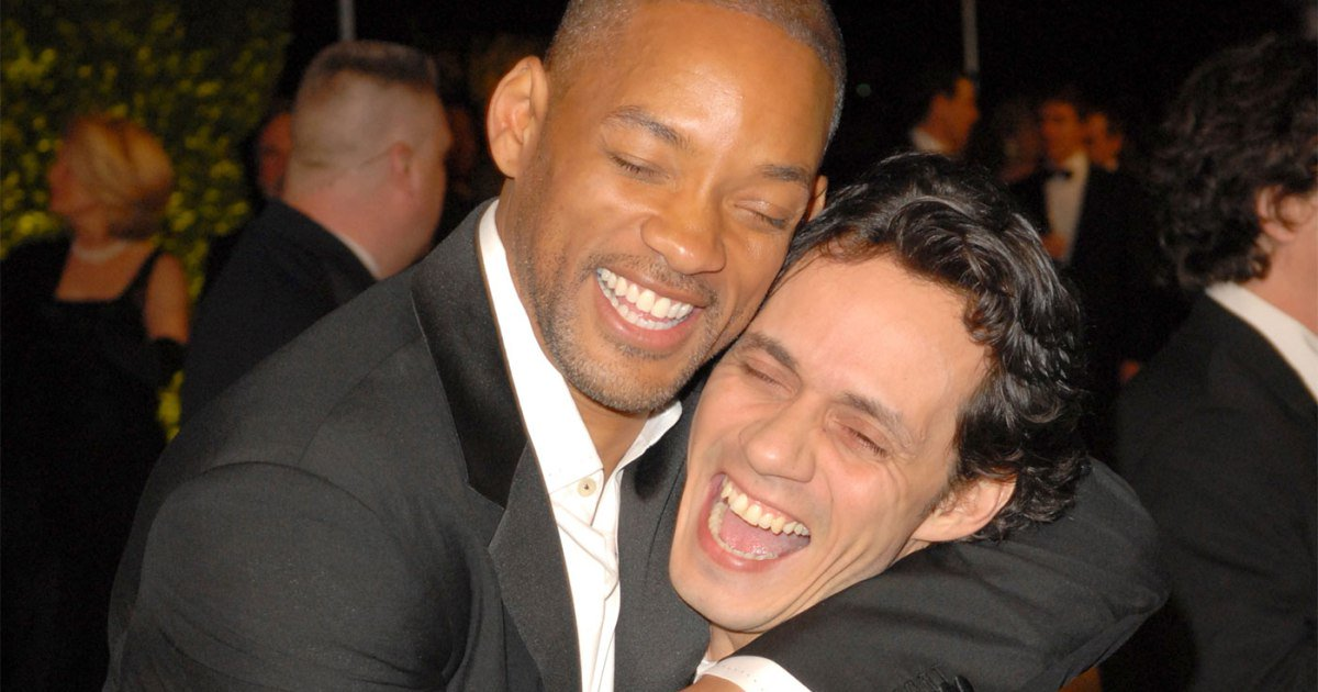 Will Smith Wishes His Hermano Marc Anthony Feliz Cumpleaños as Singer Turns 50