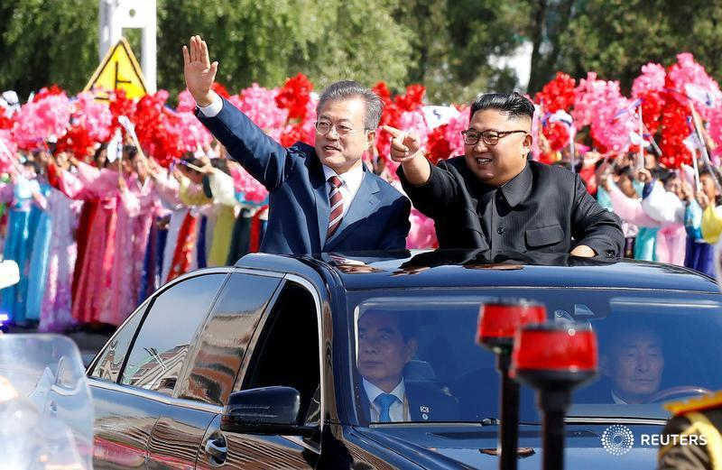 South Korea's President Moon Jae-in arrives in North Korea for his third summit with North Korean leader Kim Jong Un: https://t.co/ZmGzRGDAuo