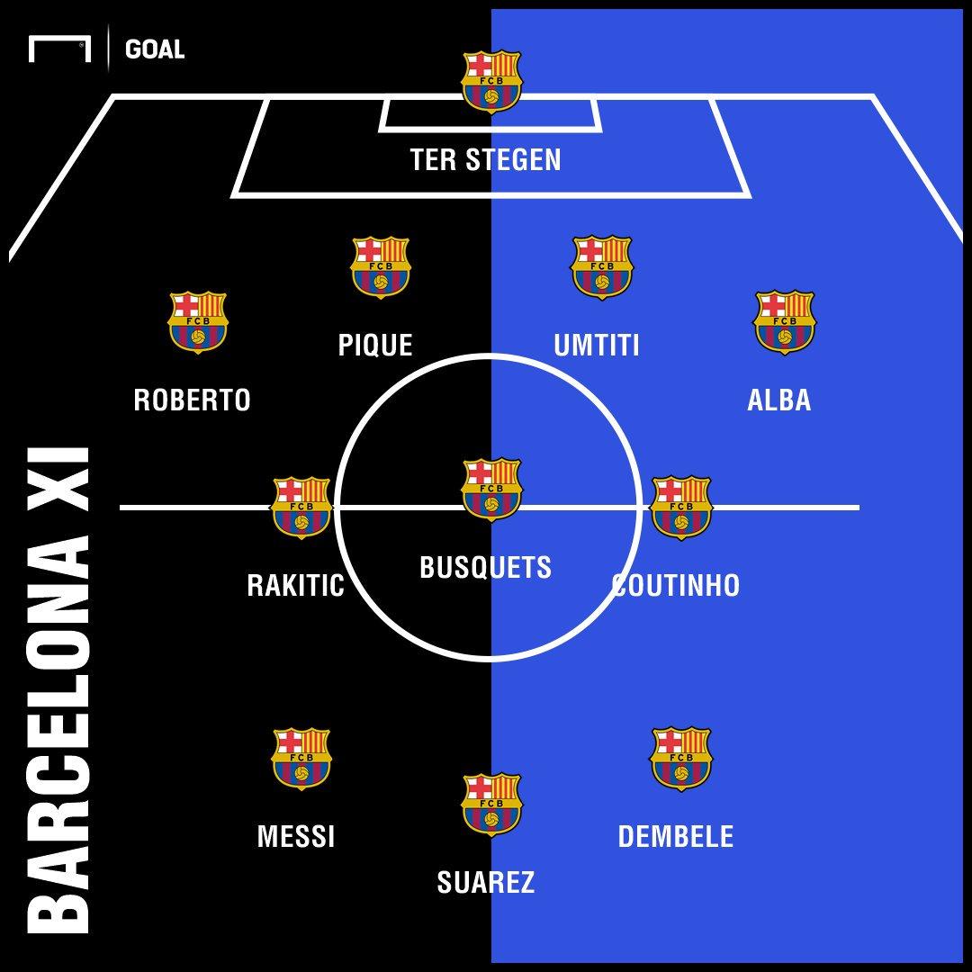 Susunan Pemain: Barcelona vs PSV Eindhoven - https://t.co/iwH8I1oiIr #BarçaPSV #UCL #MatchdayGoal https://t.co/bTSqoIgjD0