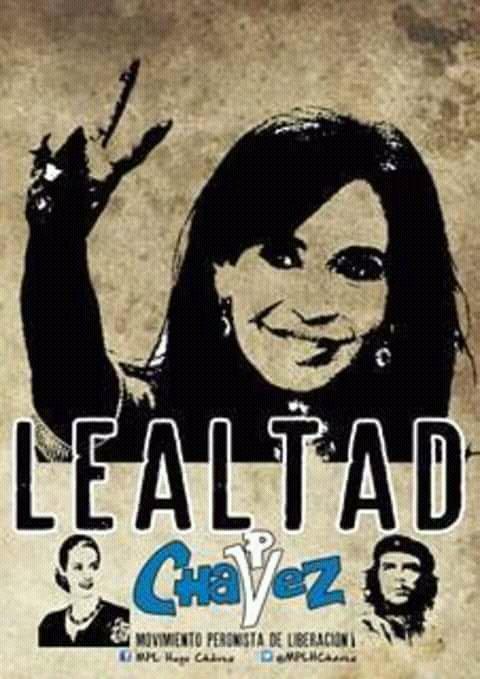 #BuenMartes Por responsabilidad histórica y compromiso con la Patria Lealtad, ahora y siempre. #FuerzaCristina @CFKArgentina Foto