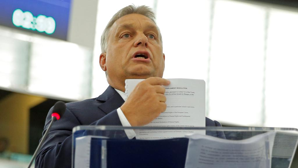 #Orban : #L'Europa umilia gli ungheresi. #Non accoglieremo mai i migranti  https://goo.gl/m5kZXk  - Ukustom
