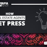 Let's take a look at our blog and pull some older quality content... shall we?Here is an article our founder, Elijah Masek-Kelly, wrote on 'How Do Real Estate Agents Get #Press Coverage' in January:https://t.co/OaFgBDX2PU