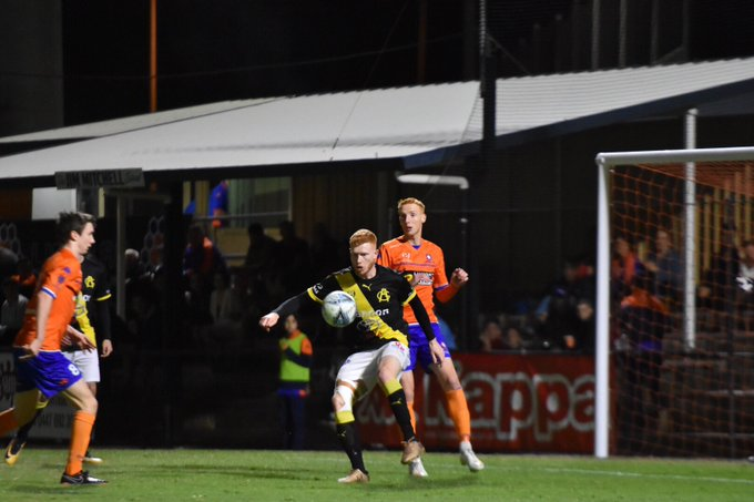 FULL TIME // We fought so hard! With 10 from the 60th minute we left our hearts on that pitch. Well done to these boys on making it thus far and congratulations on @lionsfc1 for the win #thepeoplesclub #NPL2018FinalsSeries Photo