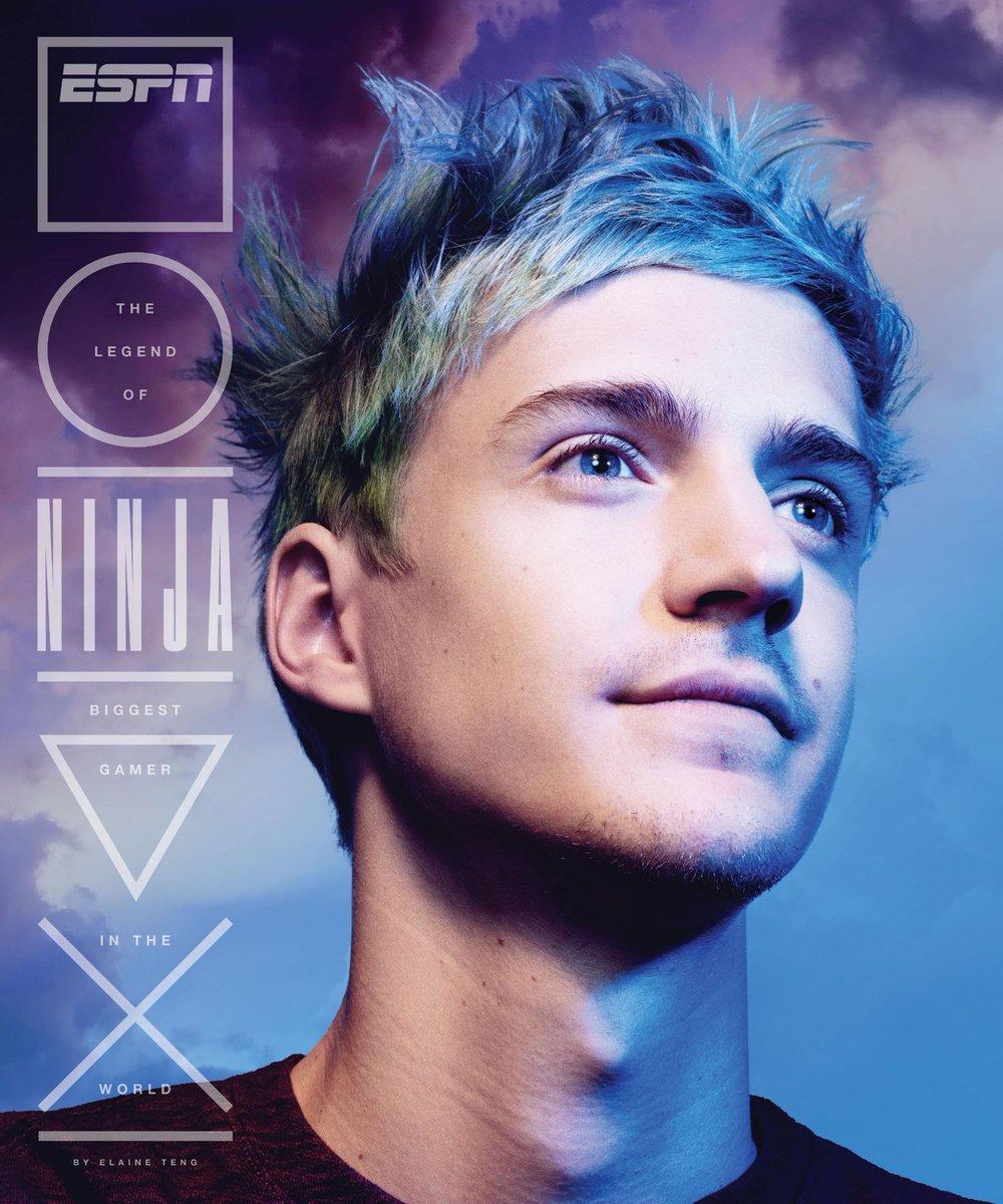 espn magazine cover featuring blevins aka ninja