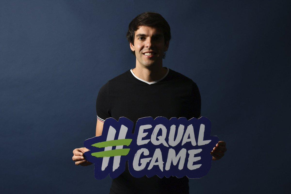 #EqualGame @ChampionsLeague is back! ⚽️🏆