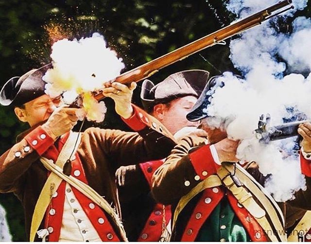 We will win there hearts with musket fire and cold steel. #reenactment #revolutionarywar #patriots #musket https://t.co/tdTrGq0N85
