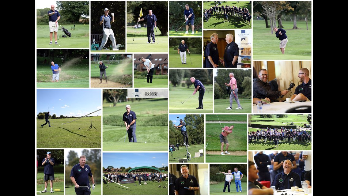 "Happy memories from last weeks event ""Norfolk's biggest ever celebrity charity golf day"" photos taken by @JuliaHolland. @Dean36ashton10 @TheWillieThorne @iwanwroberts @BobRutler @Milts25 @Clive_Allen9 @ColinJawsLloyd @KCGolfShow @GDScore @WhelanRonnie5 @MrGunny1963 @AlexStepney1"