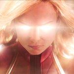 Captain Marvel Twitter Photo