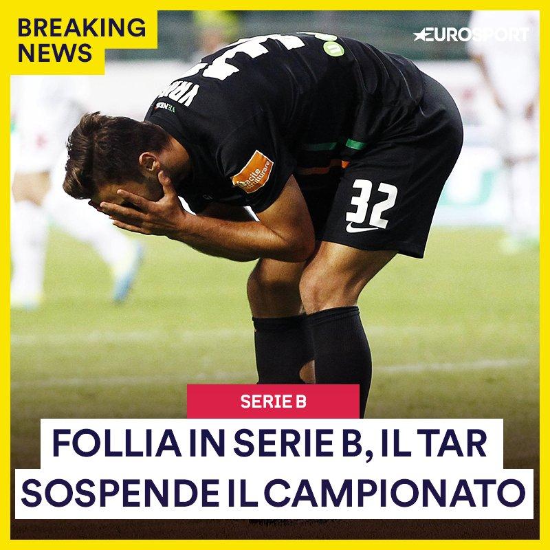 Situazione ASSURDA in Serie B Il Tar del Lazio ha sospeso il campionato: venerdì si decide la nuova formula.  #SerieB  - Ukustom