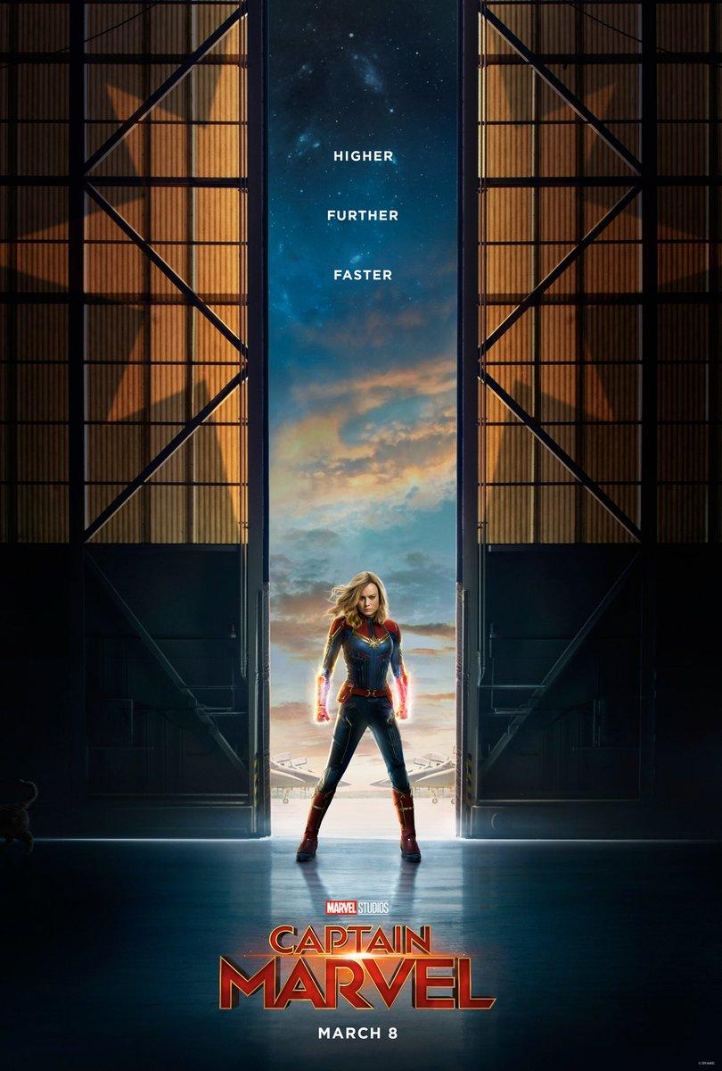 Look Mom, I'm a superhero. #CaptainMarvel