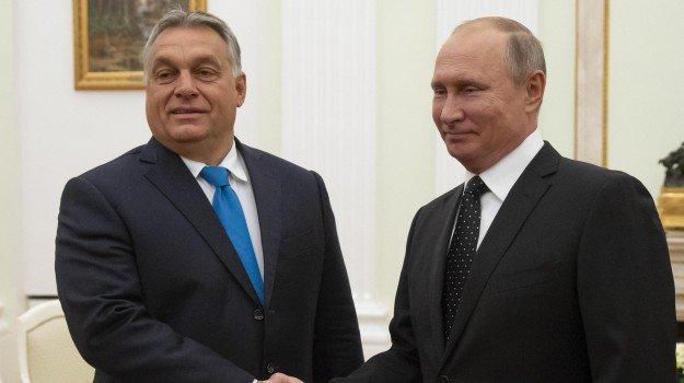 """#Putin dopo il colloquio con #Orban: """"Le politiche Ue incoraggiano l\"""