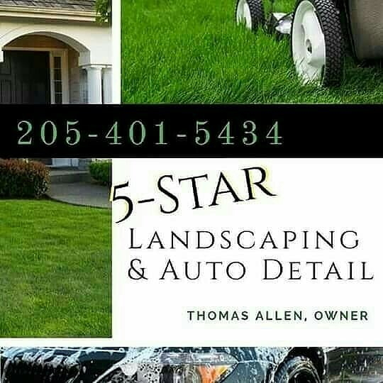 Tuesday Landscape Special ⚠ Lawn Service Mow. Blow. Edge Front & Back Yard  $65.00. You've tried the rest, now call the best. 5 Star Landscaping And  Auto ... - TrapperBoyEnt-Hustle's Tweet -