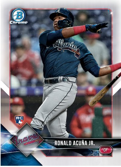 Topps On Twitter Rookie Of The Year Candidates Ronald