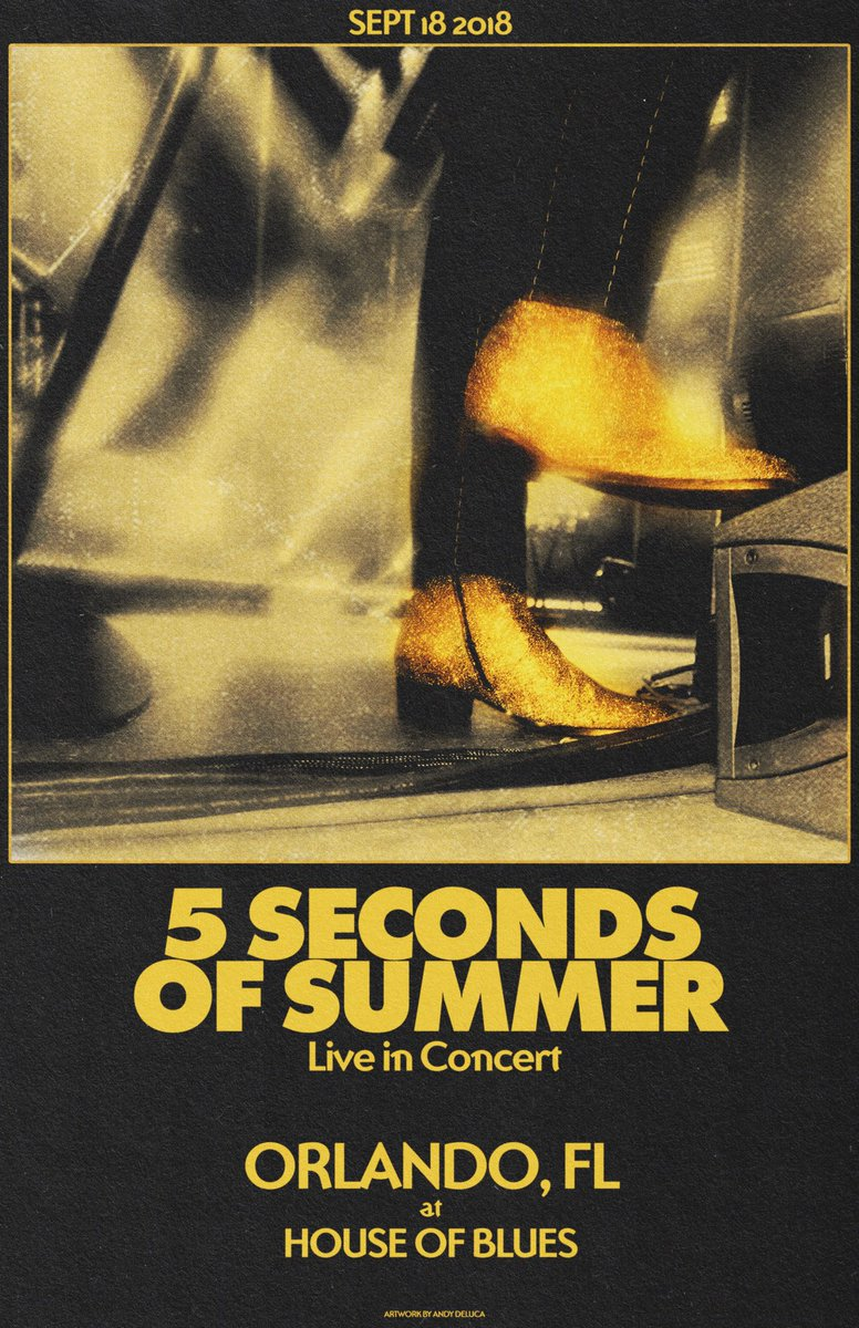 5 Seconds Of Summer On Twitter We Play Live In Orlando Tonight Show Us Your Favorite Live 5sos S