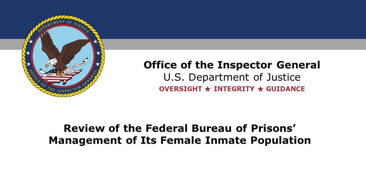 Justice OIG on Twitter: