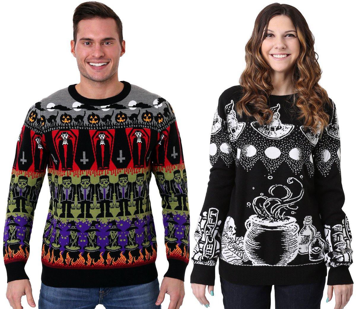 Broke Horror Fan On Twitter Everyone Loves Ugly Christmas Sweaters