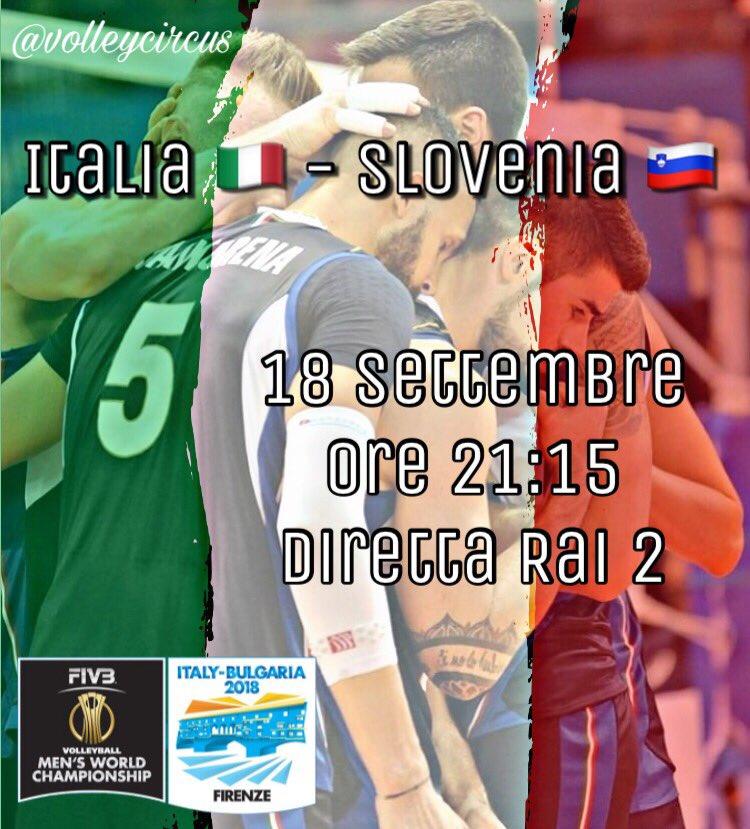Vi ricordiamo anche gli appuntamenti televisivi della giornata:Ore 17:00 Canada  - Francia (diretta Raisport HD)Ore 20:30 Serbia  - Russia  (differita Raisport ore 00:15)Ore 21:15 Italia - Slovenia  (diretta Rai2) #VolleyballWCHs #VolleyMondiali18  - Ukustom