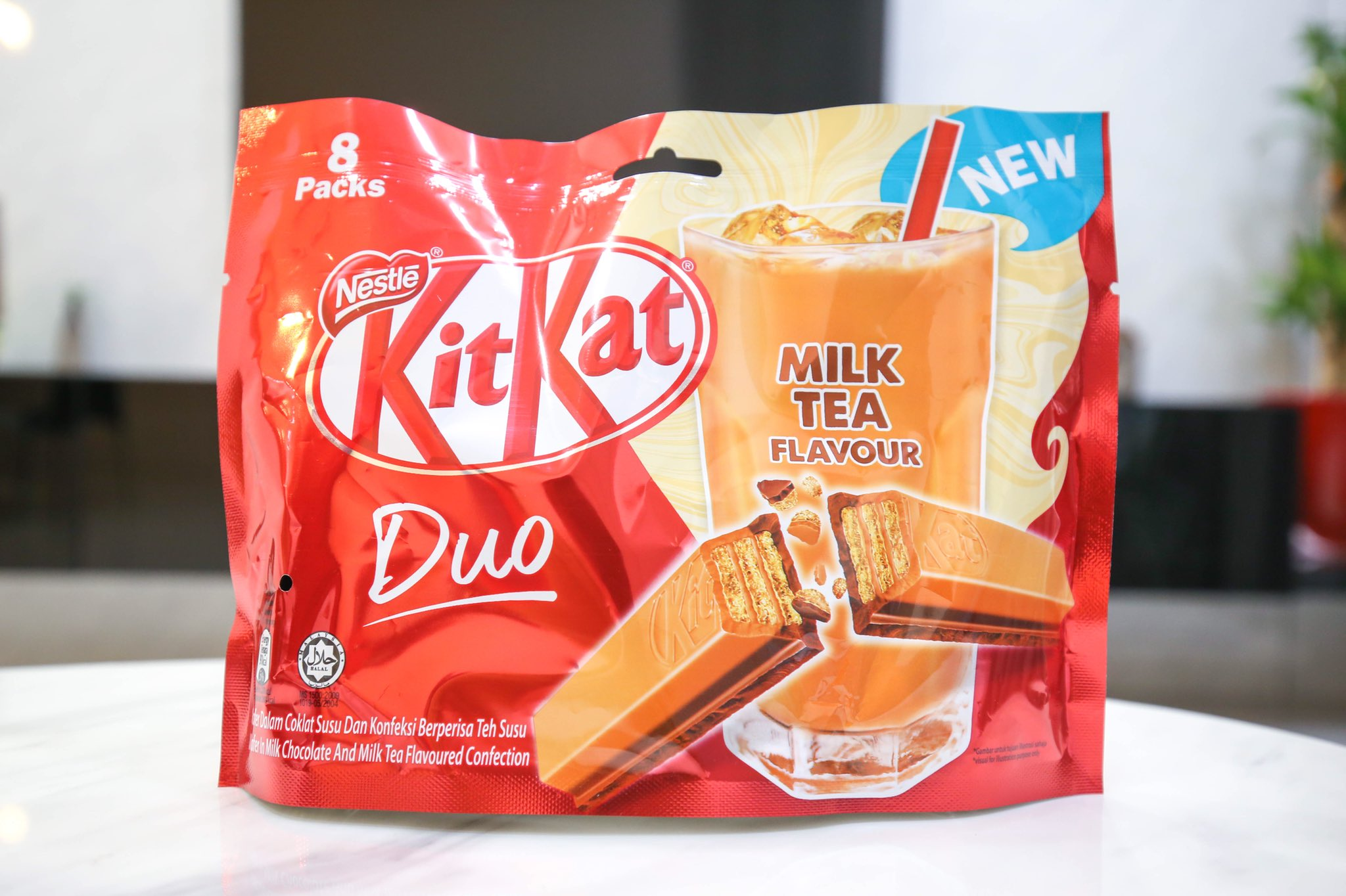 The new Milk Tea KitKat. https://t.co/xd8v7E7VnB
