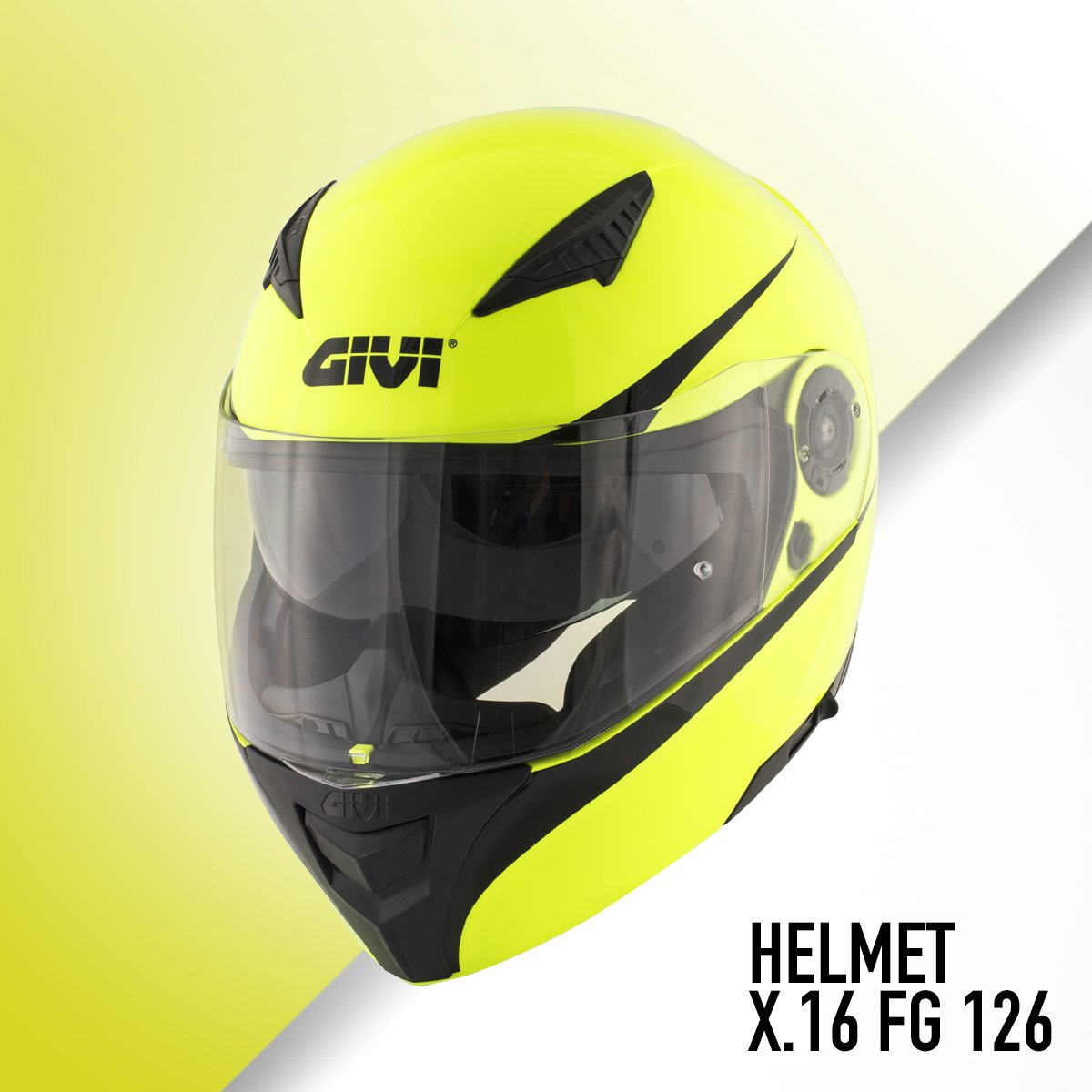 25ab6123 The #GIVI X16 helmet is avaible in four different colors with a Pinlock  ready visor, sun visor, windshield, nose shield, an airflow system with  color ...