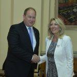 Ј. Јоксимовић и @schaerdaniel: Србија и Естонија се боље упознале, потенцијaли сарадње велики https://t.co/MjCRBm2g5A
