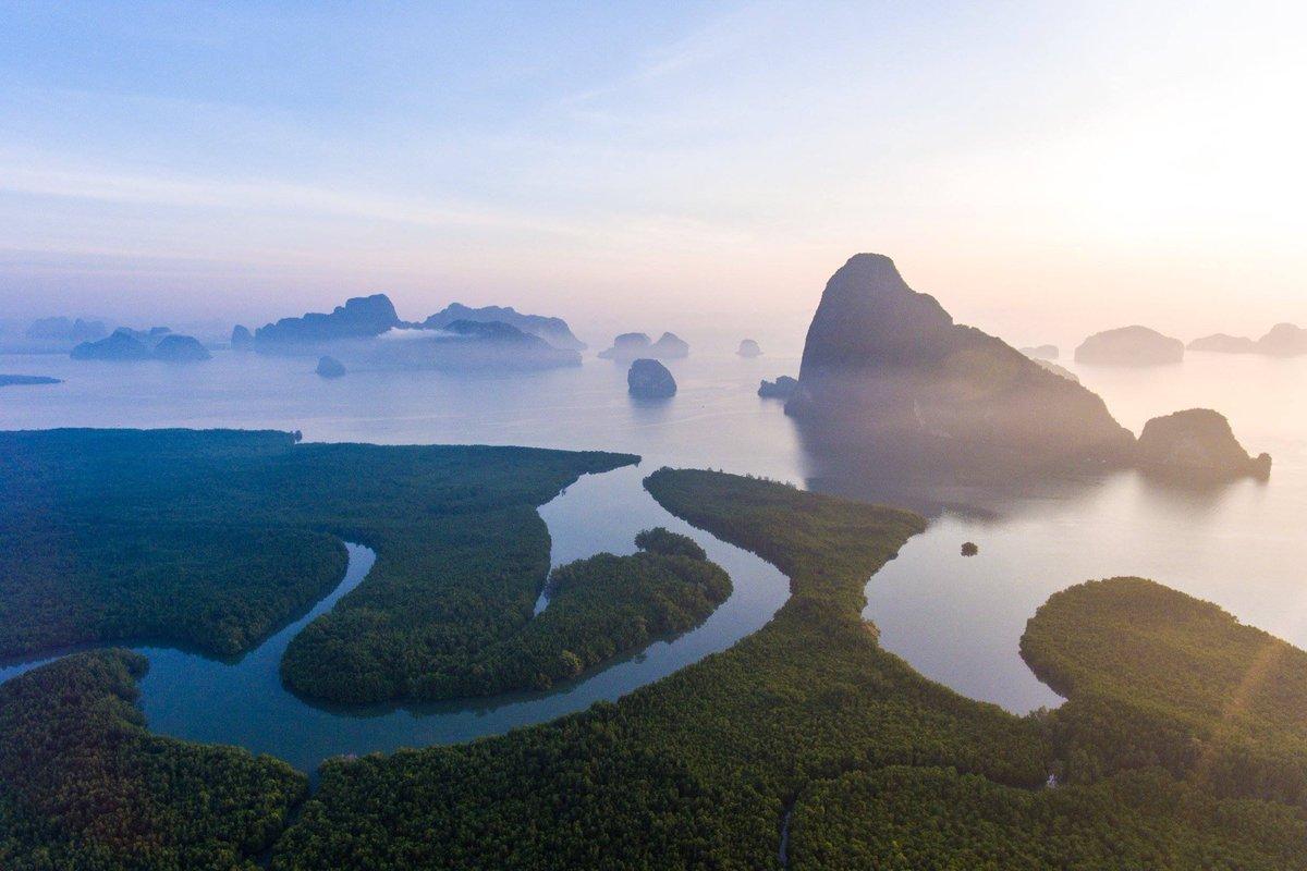 """Once a year, go somewhere you have never been before."" – Dalai Lama  [Samet Nang Chi, Phang-nga]  #AmazingThailand #OpenToTheNewShades #Slowlife #Travel #ReviewThailand #SametNangChi #Phangnga  #Thailand<br>http://pic.twitter.com/TPx4yQiuuZ"