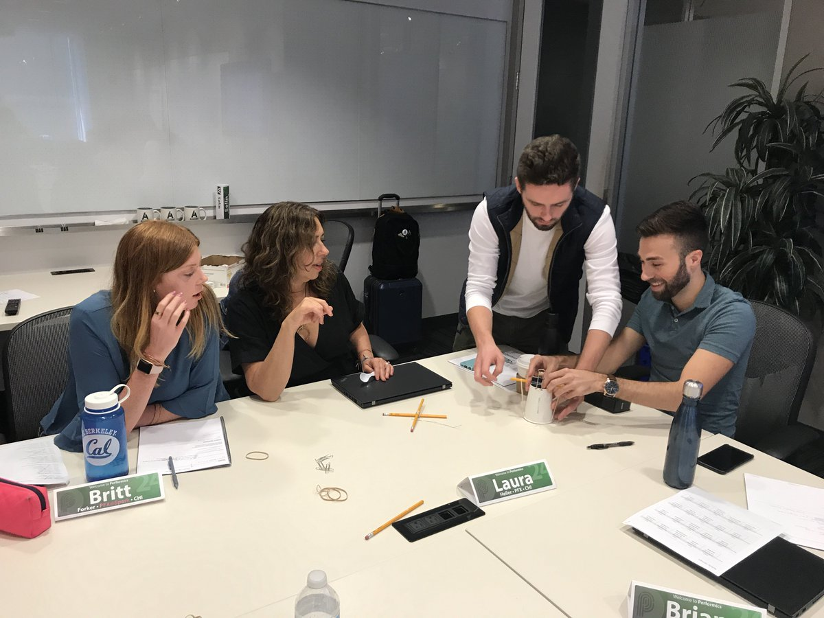 test Twitter Media - Our new employees taking part in team-building exercises for #WelcomeWeek! #teambuilding #performics https://t.co/6EkHwOF7sH