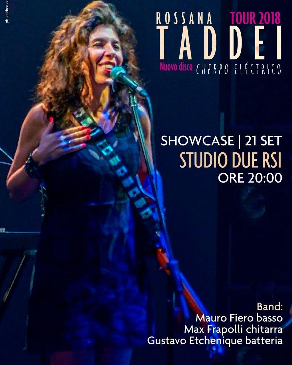 @PartSoc ví aspettiamo! 21/9 Showcase #RSI studio due presentiamo nuovo disco  Cuerpo Eléctrico #RossanaTaddeiband  #donna #musicista #cantautrice #ticinesa#svizzera #musica Qui ascolta le nuove canzoni https://open.spotify.com/album/2xt7EYrUFDMqOU8oaW41vG?si=FnQS1-5jT366rWqRmQhQuA#ticino #svizzera #musica  - Ukustom