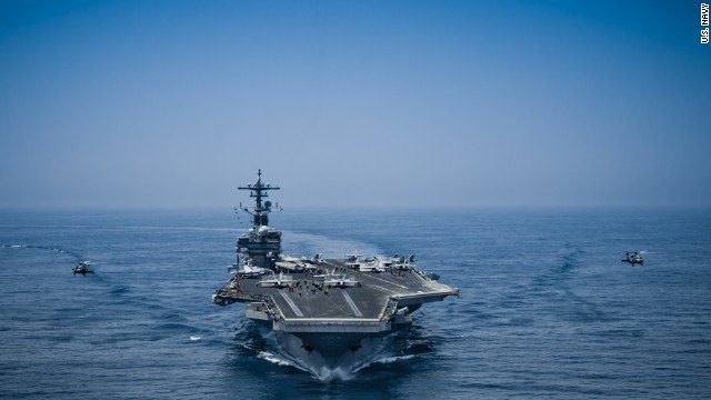 A US Navy sailor died in a mishap on the flight deck of the USS George H.W. Bush, the Navy says. The incident is under investigation. https://t.co/Ge3NGTWwmO