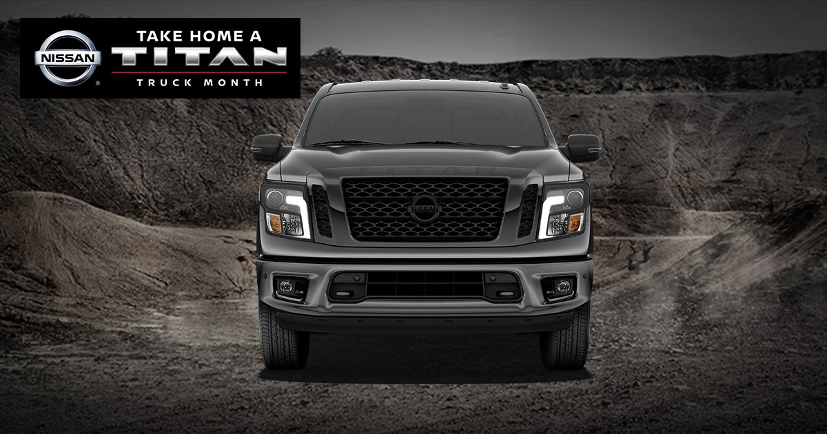 ... You Big Savings That Only Nissan Can. Save On Our Titan Family, With  Advanced Tech That Helps Keep You Moving. Visit Us  Today.pic.twitter.com/Q3RrrYJWXl