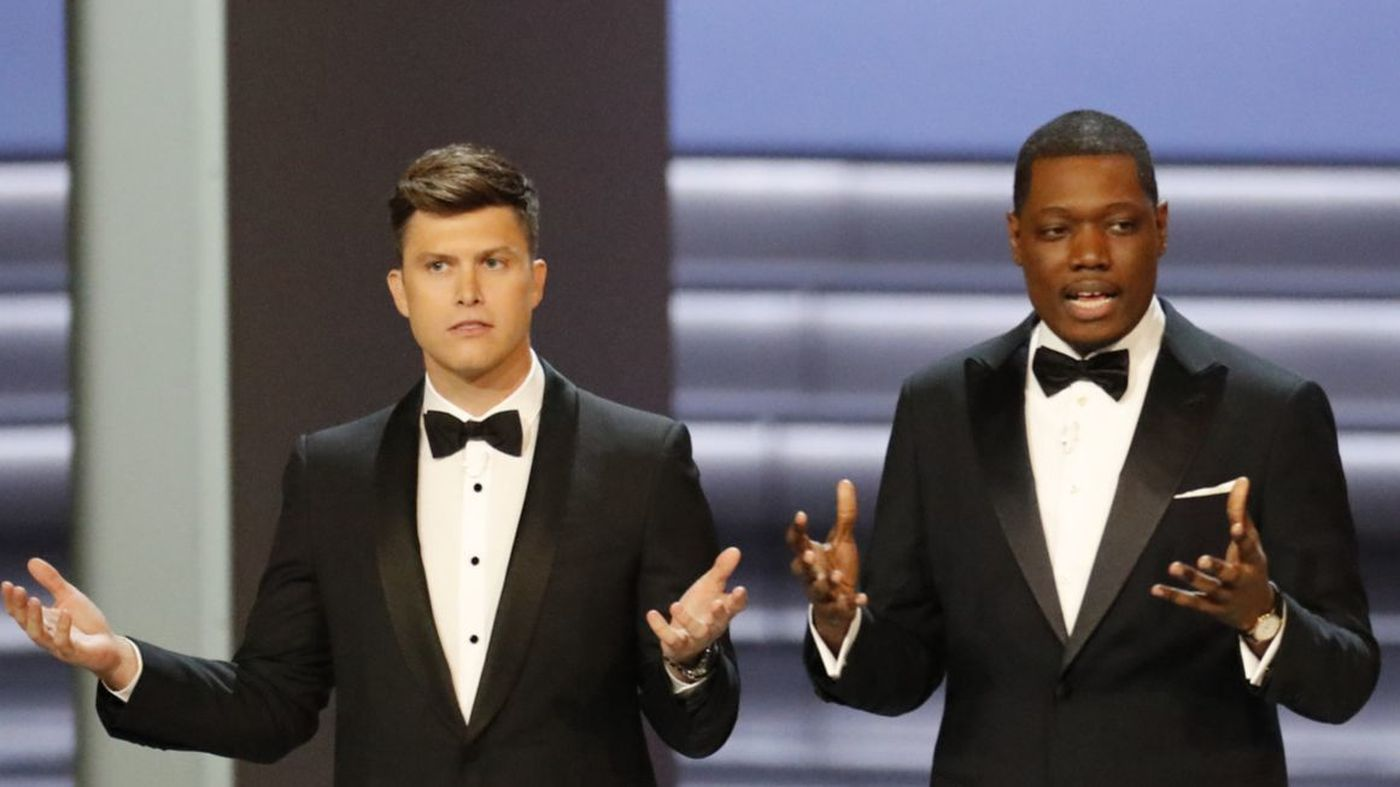 Emmy Awards audience shrinks: Early TV ratings for NBC's telecast drop 10% from 2017 https://t.co/4hSsROKIbY https://t.co/F39wT00ESj