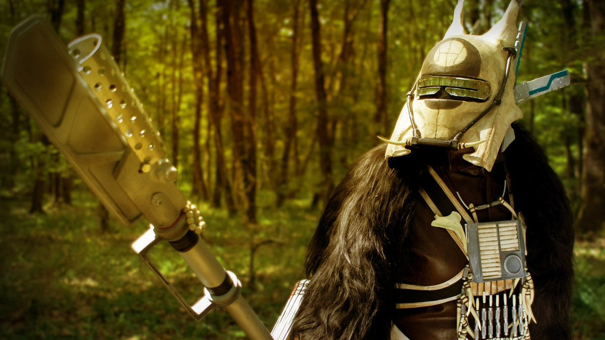 Meet the fans who recreated Enfys Nest's costume from scratch. https://t.co/le6Hnh5qqt