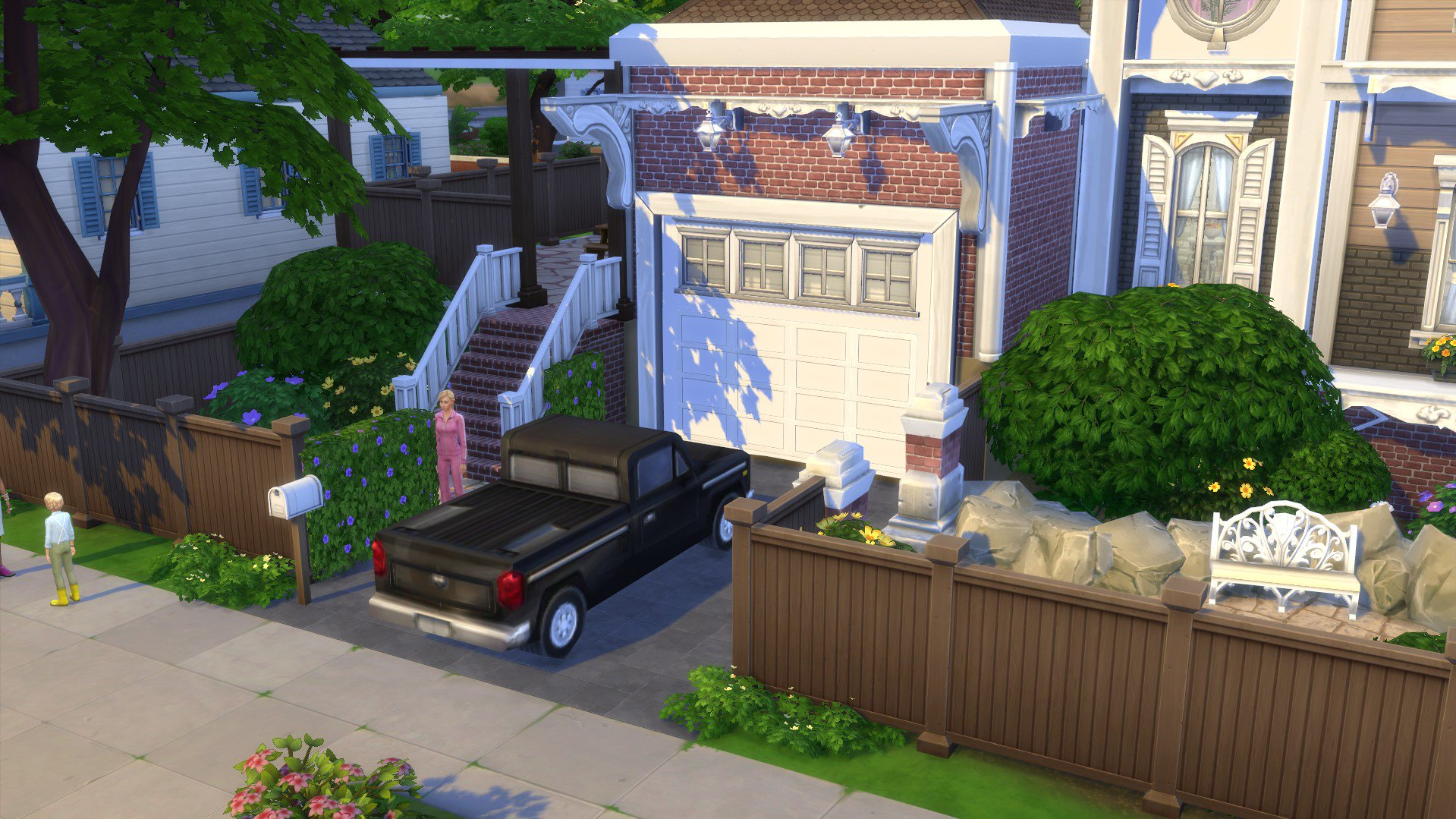 Kate Emerald On Twitter I Made A Tutorial That Explains How To Build A Ground Level Garage In Combination With A Raised Foundation No Cc Used And Just Base Game Objects For