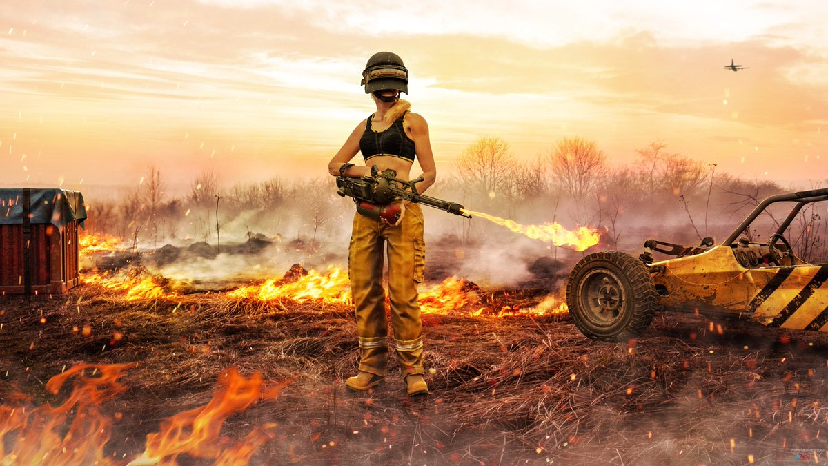 "Pubg Wallpaper Hd Pic: Steven Bongers On Twitter: ""Things Are Heating Up! A New"