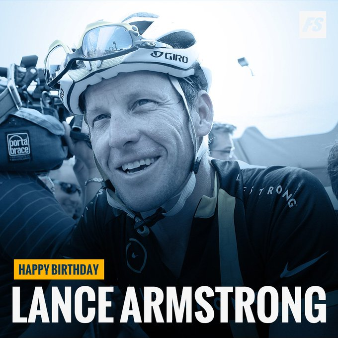 Happy Birthday Lance Armstrong (