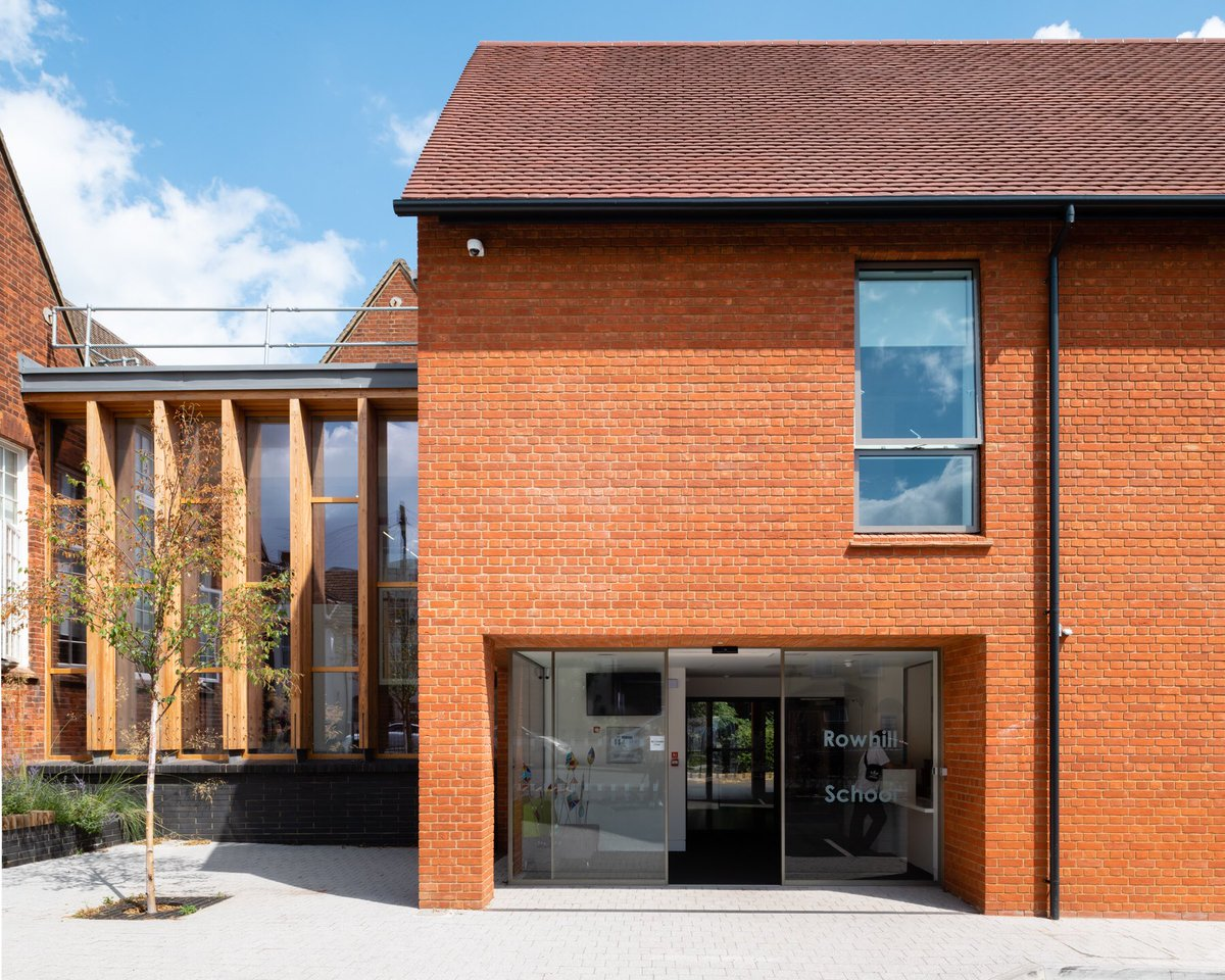 Beautiful New Film By @clickclickjim Showcasing Exemplary Design Of  #RowhillSchool #Aldershot By @Hants_Property @HCC_Architects @HCC_Interiors  ...