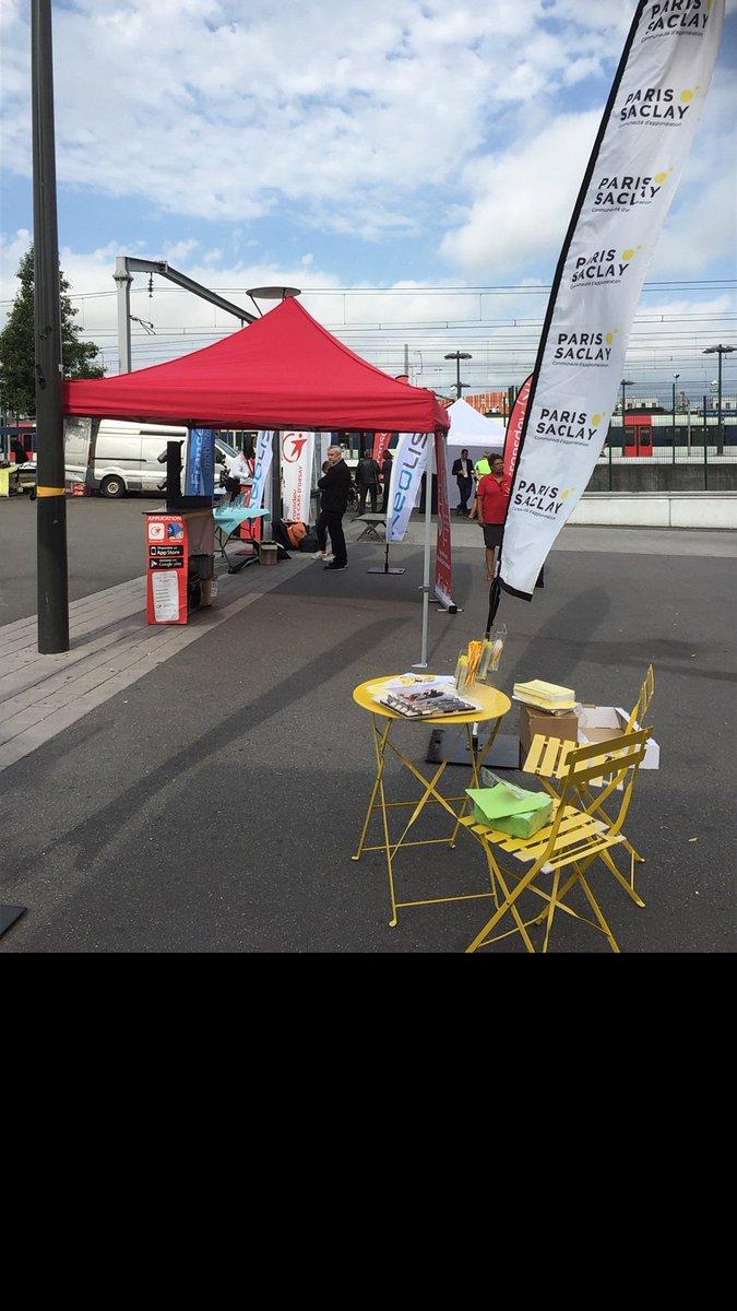 Merci à @carsdOrsay @ALBATRANS91 @CEATransports @KeolisMeyer @transdevFR @le_trente @AllConnectedsas @Picnic_paris d'avoir été présents avec nous à la gare de Massy pour la semaine de la mobilité. On se retrouve demain pour un petit déj en gare du Guichet ! https://t.co/0BI7Yi4djO