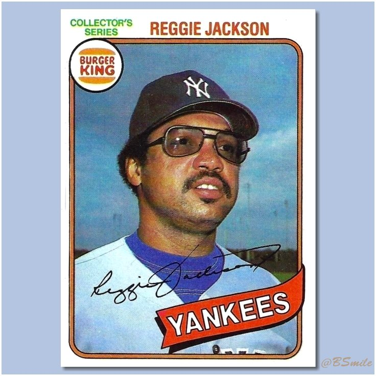 Baseball By Bsmile على تويتر 1980 Burger Kingtopps
