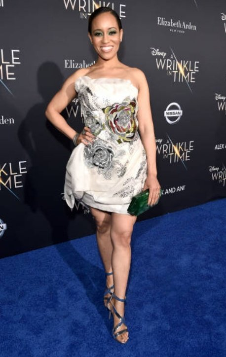 #tbt to #WrinkleinTime #Premiere and this beautiful look. #slaying