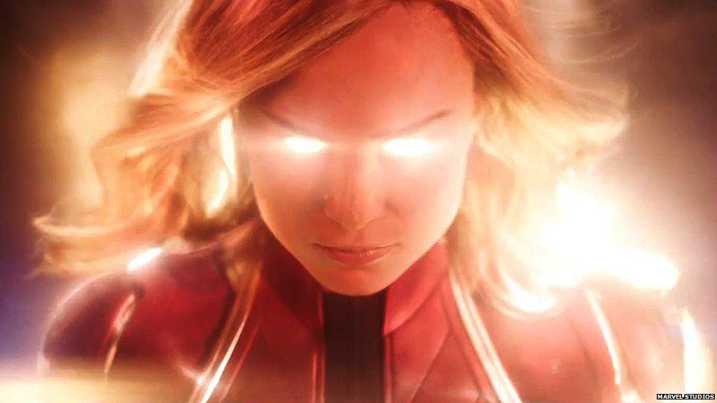 #CaptainMarvel: Why Brie Larson's Carol Danvers is a superhero game-changer  https://t.co/mTNTxgthrf https://t.co/r2BpU4jvQj