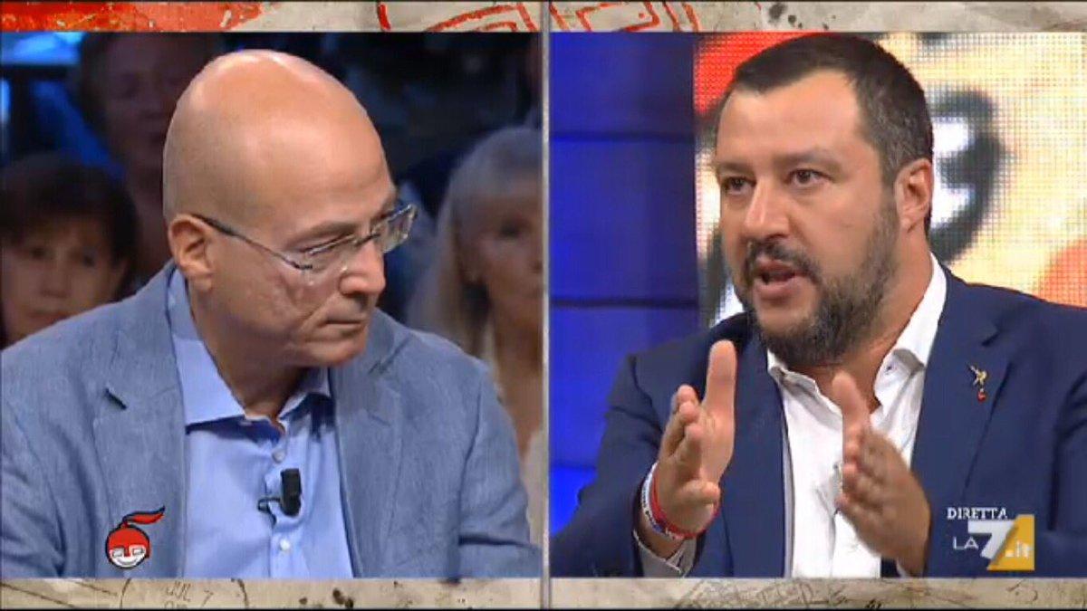 #Salvini su #decretoimmigrazione: se sei richiedente asilo e delinqui, strappo la richiesta e te ne torni da dove sei venuto. #DiMartedi  - Ukustom