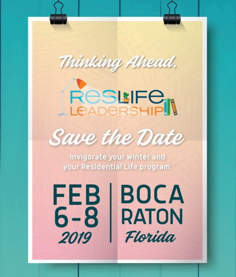 Save the Date! Even better -- Register Now and Save Money with Early Bird and Group Rates! tinyurl.com/y8v79np4