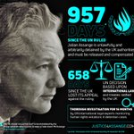 As of today—start of the 73rd UN General Assembly—957 days have passed  since the UN ruled Julian Assange is unlawfully & arbitrarily detained by the UK authorities and must be released & compensated. https://t.co/zZGUOhNDvH #FreeAssange