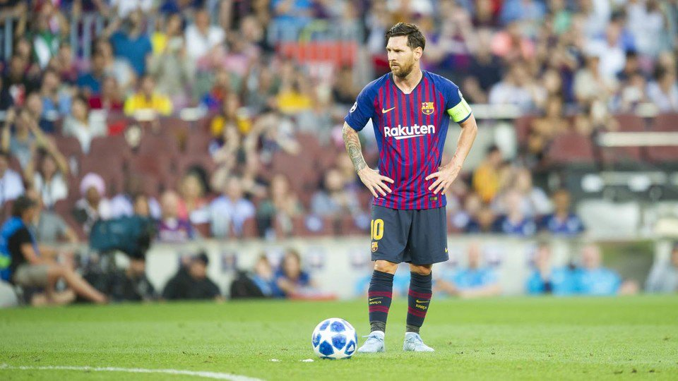 And #Messi said, Let there be a goal: and there was a goal. https://t.co/7ydlC9fSwU