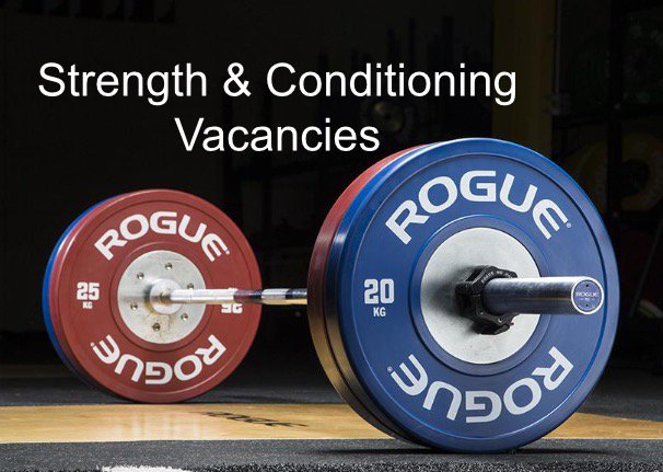 Strength & Conditioning Vacancies on Twitter: