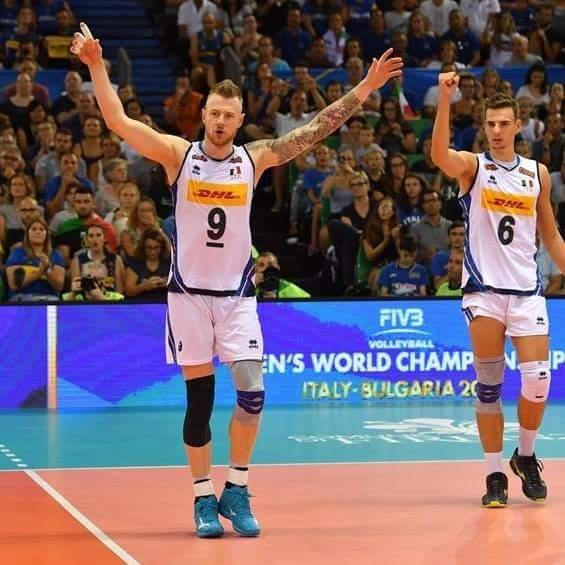 Alzi la mano chi attende con ansia la partita di stasera! #volleyballWCHs #FIVBMensWCH  - Ukustom
