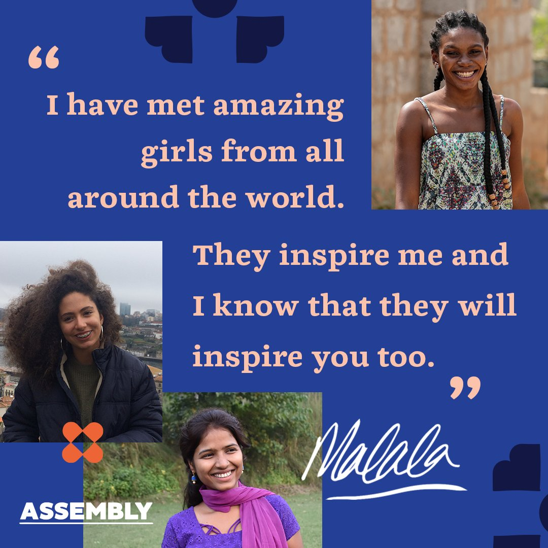SUBSCRIBE to Malala Fund's Assembly for girl-powered stories delivered straight to your inbox. assembly.malala.org/subscribe 👈🏽