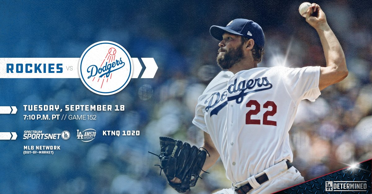.@ClaytonKersh22 and Kyle Freeland meet in NL West duel tonight.  ��: https://t.co/u0MDBSVydz https://t.co/U1cNBPPJnB