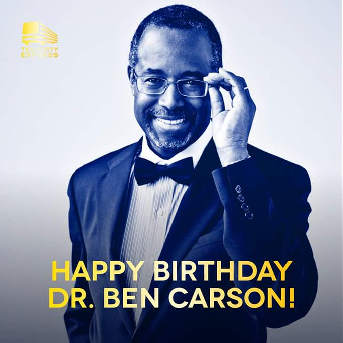 Happy birthday to our great Mr. Ben Carson